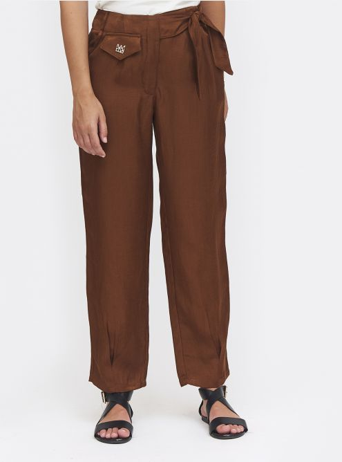 Pantalon Pondichery - Cognac