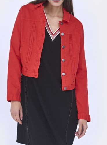Blouson Friendly - Rouge