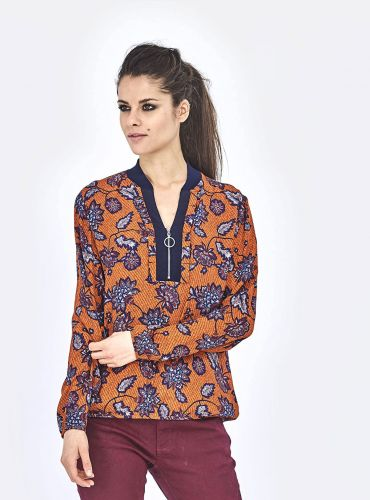Blouse Triptico - Orange