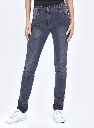Pantalon Denimology - Anthracite