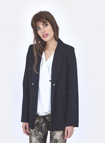 Veste Military Girl - Noir