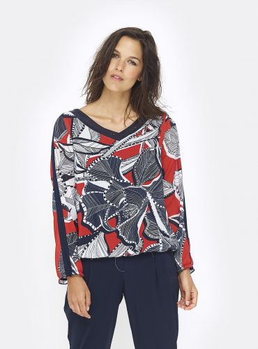 Blouse Good Time - Multicolor