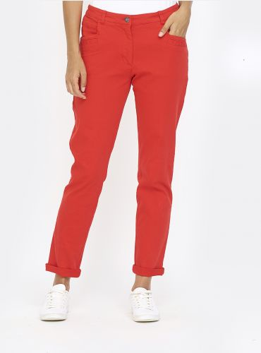 Pantalon Friendly - Rouge