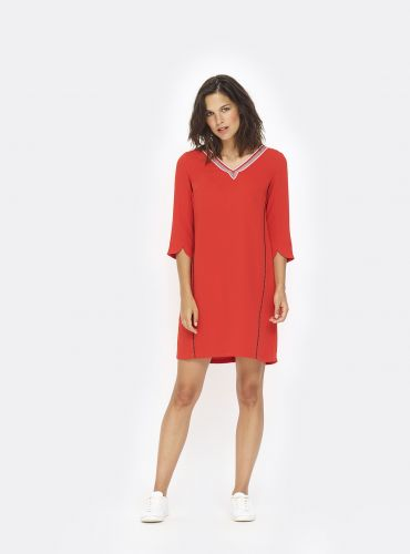 Robe 33 Tours - Rouge