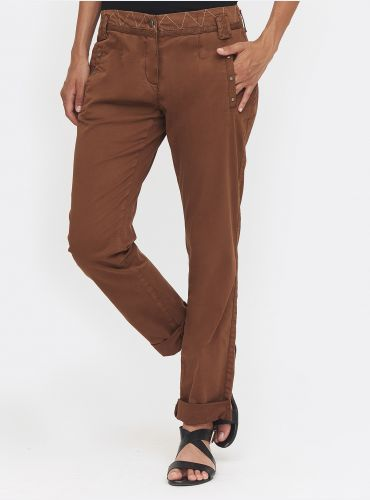 Pantalon Good Mood - Cognac