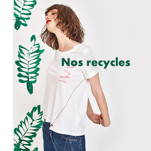Vêtements pour femmes recyclés été